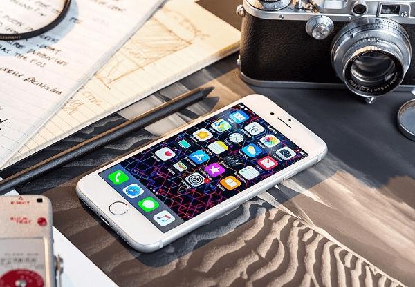 loi camera iphone 8 plus bi mo