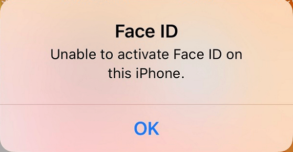 face id iphone x bi loi