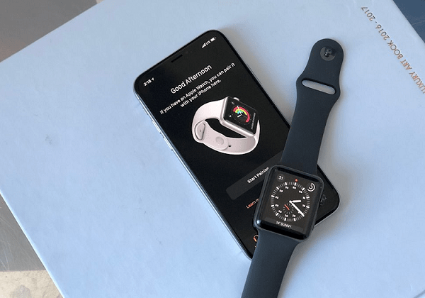 iphone khong ket noi duoc voi apple watch