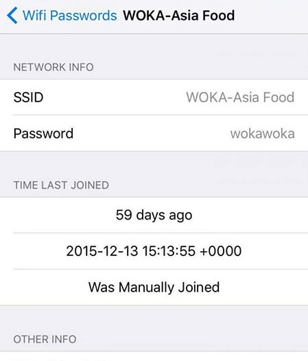 mot so ung dụng xem mat khau wifi tren iphone 2