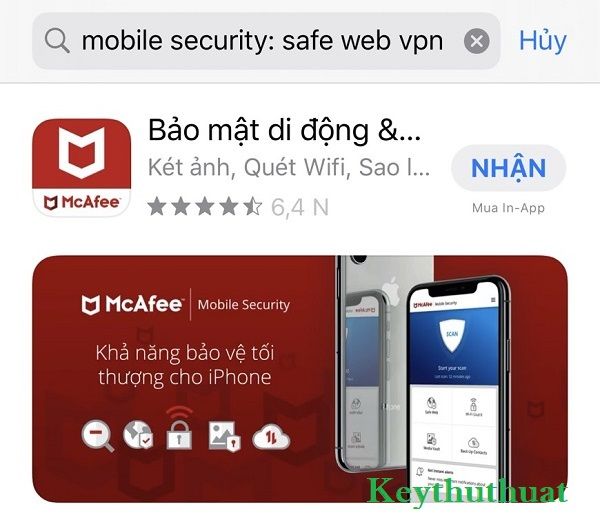 Mobile Security Safe Web VPN