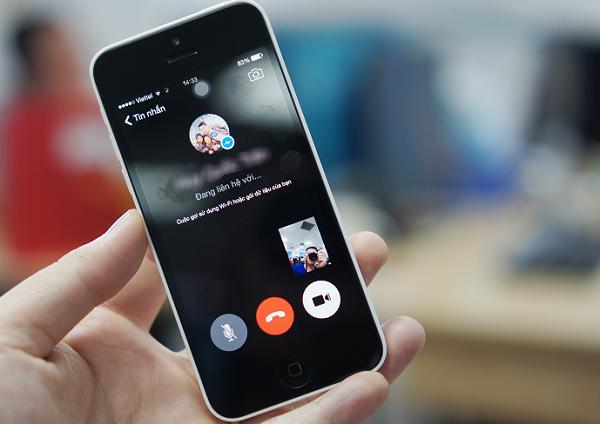 tai sao messenger khong goi duoc video tren iphone