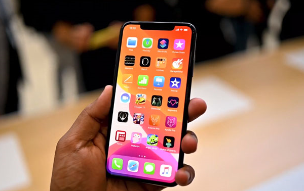 cach doi font chu tren iphone 11 pro max