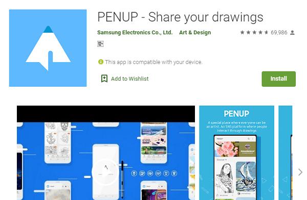 pen up