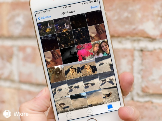 Hình ảnh iPhone bị dấu chấm than