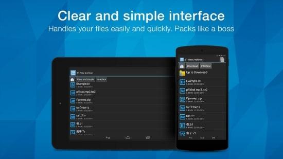 Ứng dụng mở file Zip trên Android