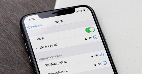 Nguyên nhân iPhone hiện Wifi nhưng không vào mạng được